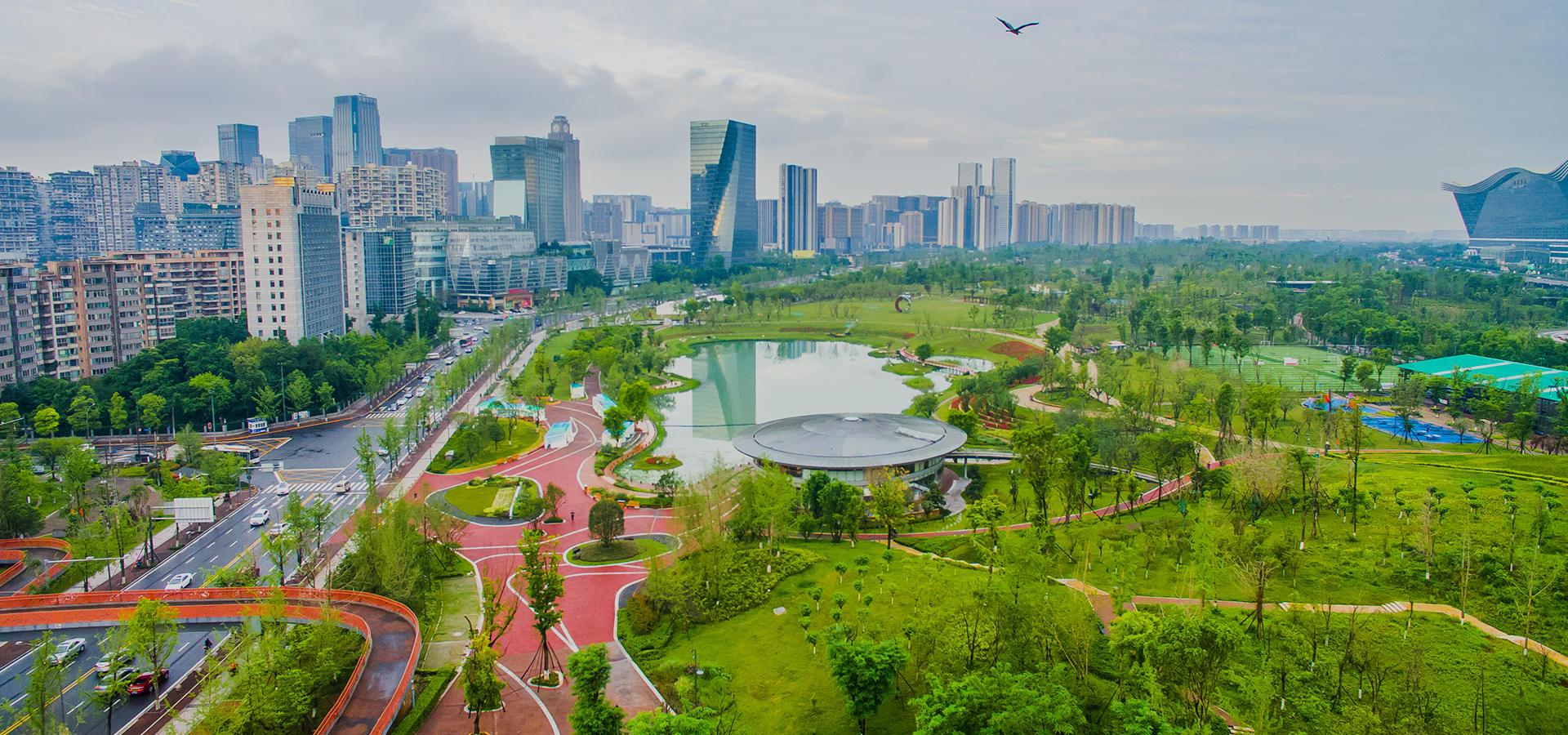 生态设施开发商,公园城市建设先锋军